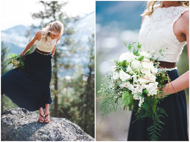 Stunning Mountainside Elopement | Tonie Christine Photography | Bridal Musings Wedding Blog5