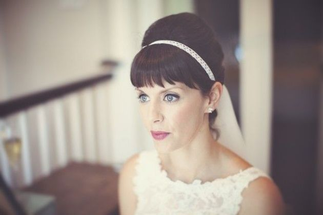 Brides With Bangs | Brides with Fringes | Wedding Hair Inspiration | Bridal Musings 11