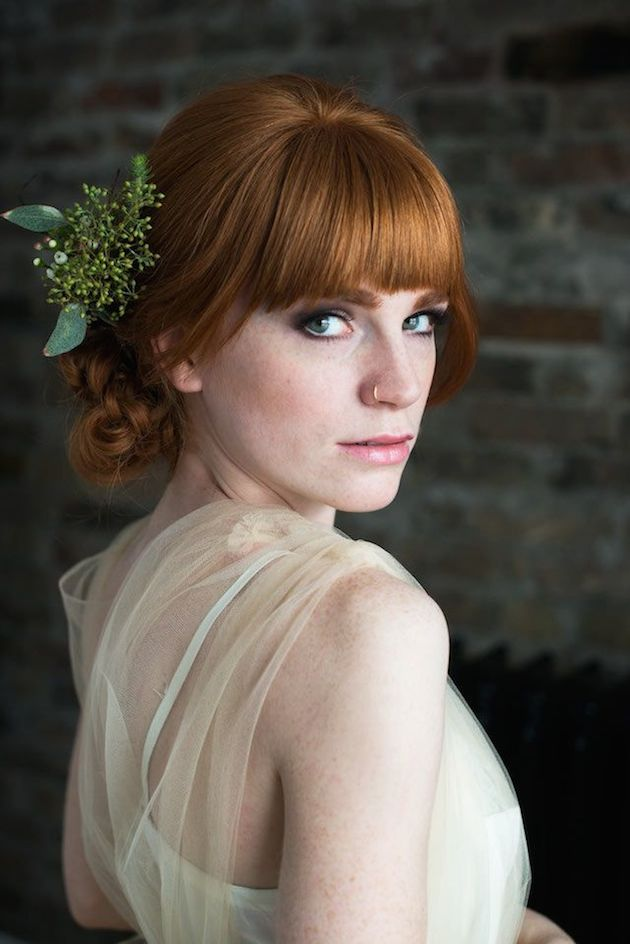 Brides With Bangs | Brides with Fringes | Wedding Hair Inspiration | Bridal Musings 12