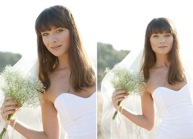 Brides With Bangs | Brides with Fringes | Wedding Hair Inspiration | Bridal Musings 4