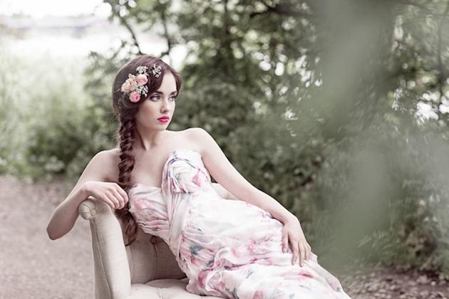 Flower-Filled Woodland Wedding Inspiration | Cristina Rossi Photography | Bridal Musings Wedding Blog 11