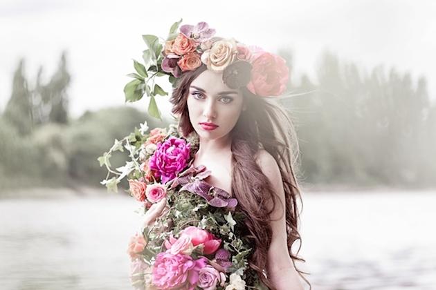 Flower-Filled Woodland Wedding Inspiration | Cristina Rossi Photography | Bridal Musings Wedding Blog 12