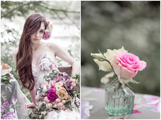 Flower-Filled Woodland Wedding Inspiration | Cristina Rossi Photography | Bridal Musings Wedding Blog 13