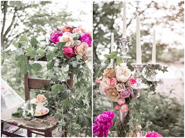 Flower-Filled Woodland Wedding Inspiration | Cristina Rossi Photography | Bridal Musings Wedding Blog 14