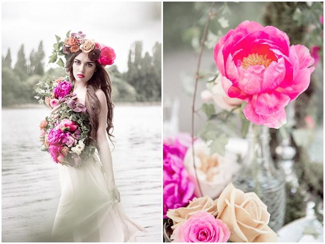 Flower-Filled Woodland Wedding Inspiration | Cristina Rossi Photography | Bridal Musings Wedding Blog 16