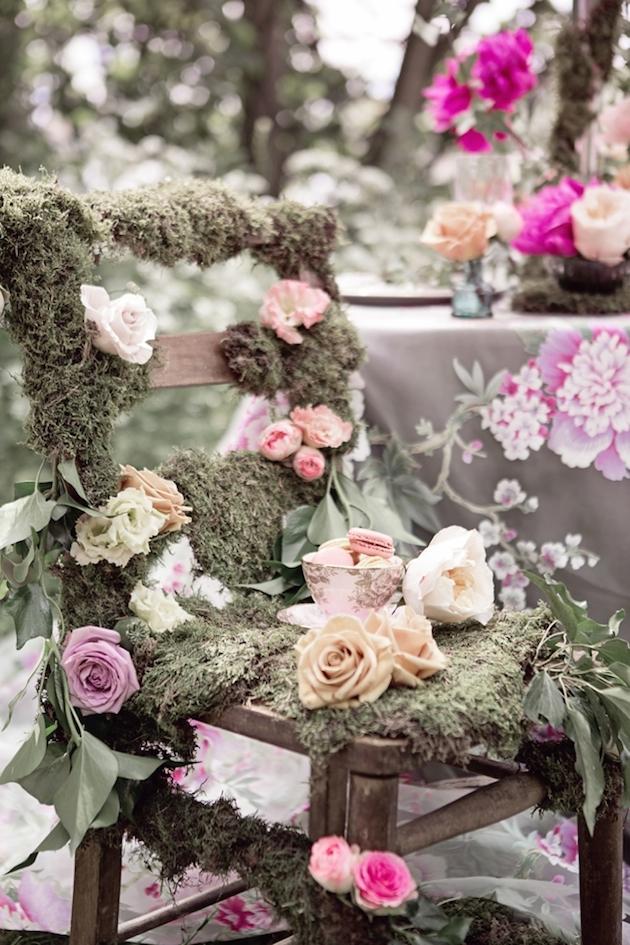 Flower-Filled Woodland Wedding Inspiration | Cristina Rossi Photography | Bridal Musings Wedding Blog 17