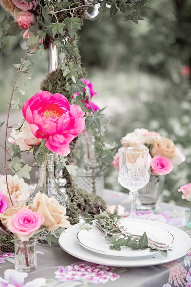 Flower-Filled Woodland Wedding Inspiration | Cristina Rossi Photography | Bridal Musings Wedding Blog 18