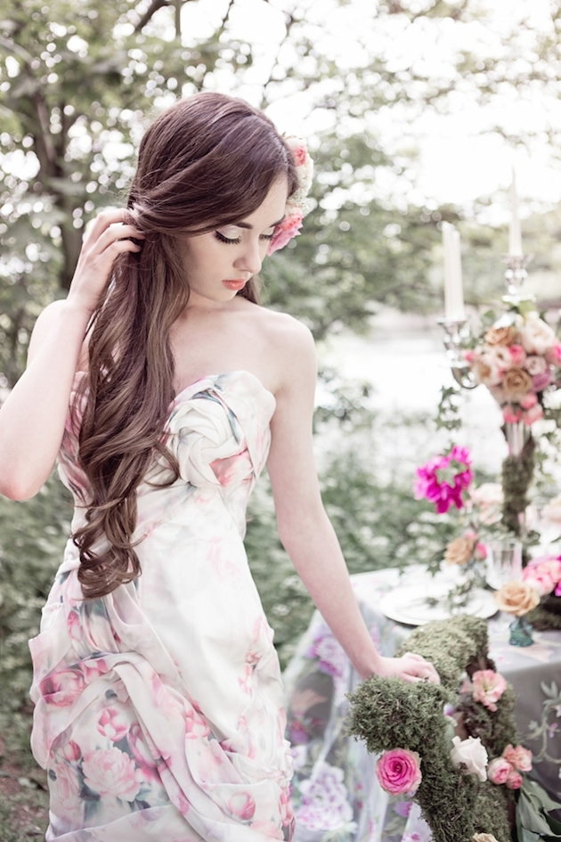 Flower-Filled Woodland Wedding Inspiration | Cristina Rossi Photography | Bridal Musings Wedding Blog 19