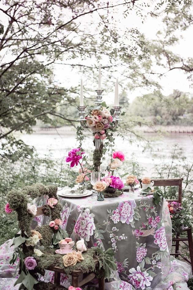 Flower-Filled Woodland Wedding Inspiration | Cristina Rossi Photography | Bridal Musings Wedding Blog 21