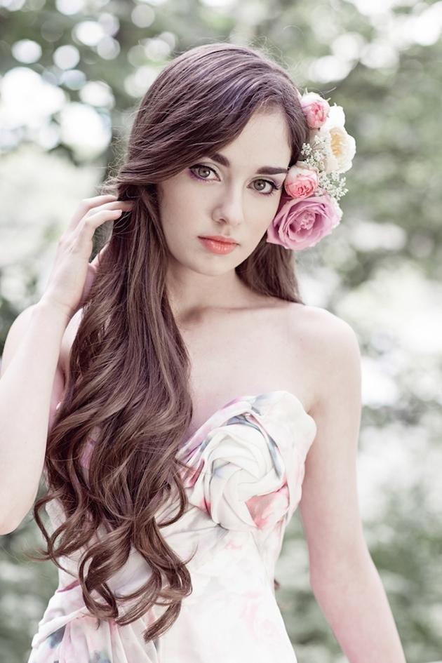 Flower-Filled Woodland Wedding Inspiration | Cristina Rossi Photography | Bridal Musings Wedding Blog 22