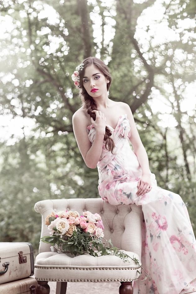 Flower-Filled Woodland Wedding Inspiration | Cristina Rossi Photography | Bridal Musings Wedding Blog 25