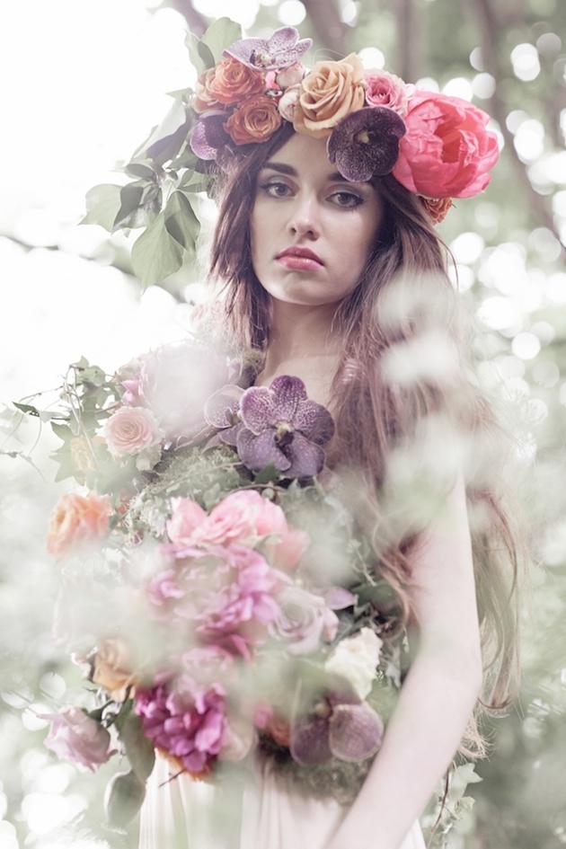 Flower-Filled Woodland Wedding Inspiration | Cristina Rossi Photography | Bridal Musings Wedding Blog 27