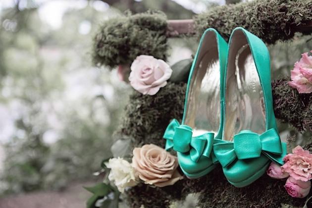 Flower-Filled Woodland Wedding Inspiration | Cristina Rossi Photography | Bridal Musings Wedding Blog 7