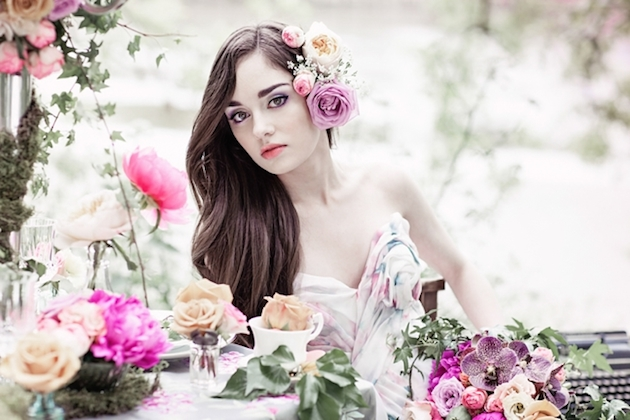 Flower-Filled Woodland Wedding Inspiration | Cristina Rossi Photography | Bridal Musings Wedding Blog 8