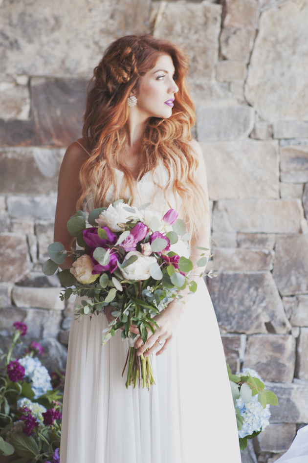 Orchid and Watercolour Wedding Inspiration   Ellie Asher Photography   Bridal Musings Wedding Blog 10
