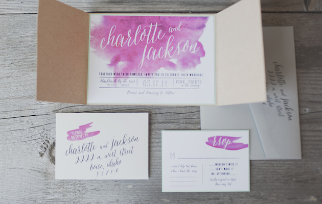 Orchid and Watercolour Wedding Inspiration   Ellie Asher Photography   Bridal Musings Wedding Blog 3