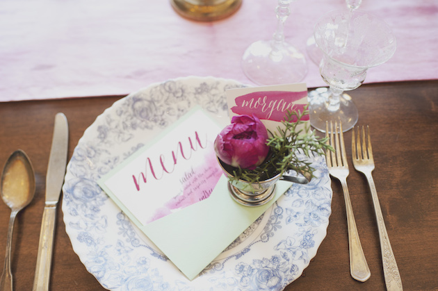Orchid and Watercolour Wedding Inspiration | Ellie Asher Photography | Bridal Musings Wedding Blog 4