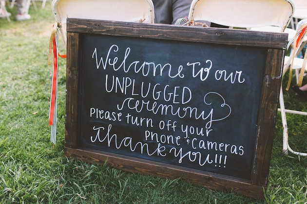 Technology at Weddings | Unplugged vs Plugged In | Bridal Musings Wedding Blog 3