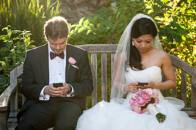 Technology at Weddings | Unplugged vs Plugged In | Bridal Musings Wedding Blog 7