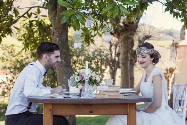 Vintage Spring Wedding Inspiration   Luca Studios   Bridal Musings Wedding Blog 16