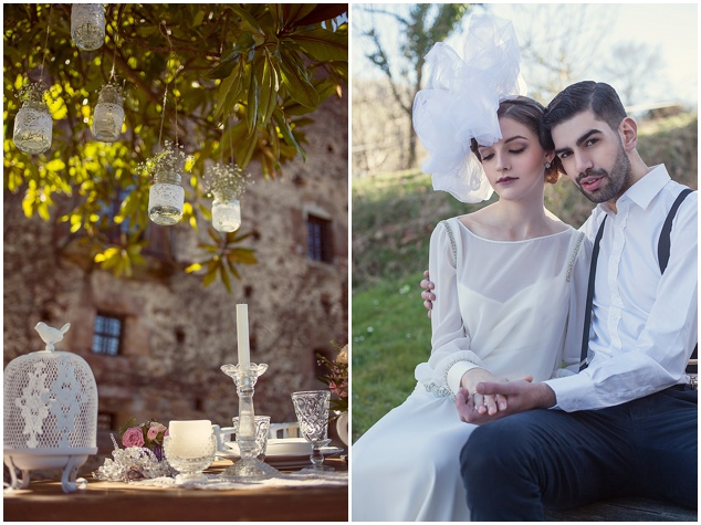 Vintage Spring Wedding Inspiration | Luca Studios | Bridal Musings Wedding Blog 2