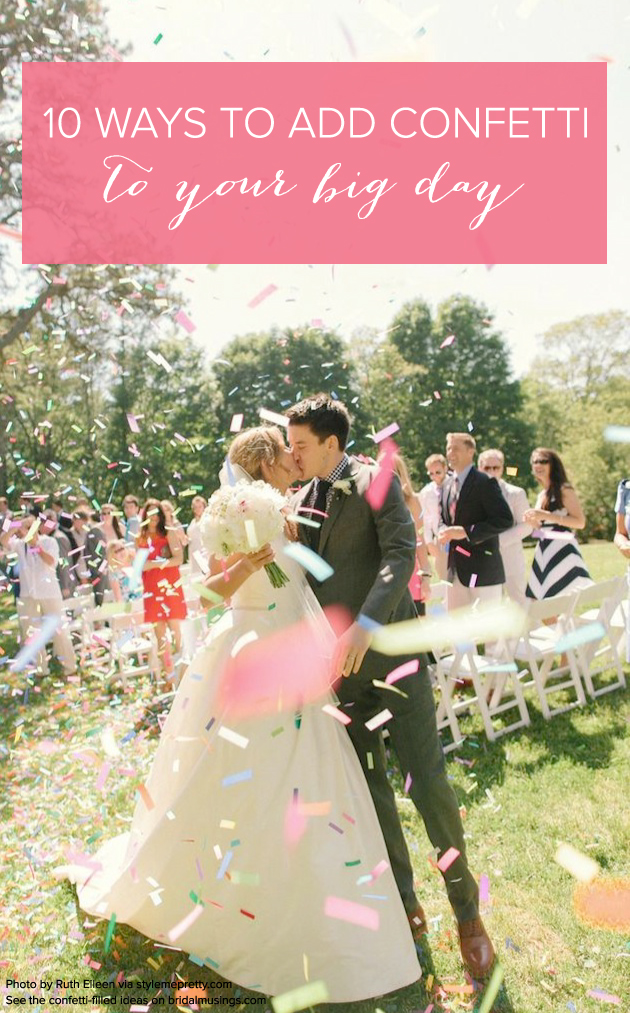 The top 10 fun & fabulous wedding confetti ideas!
