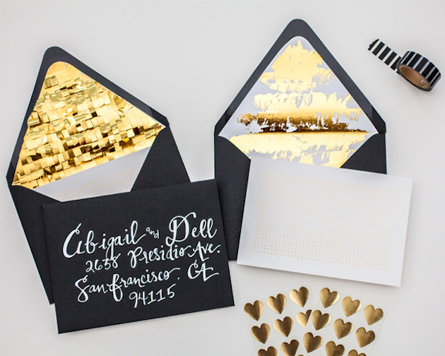 13 Unique Envelope Inserts | Wedding Stationery | Bridal Musings Wedding Blog 13