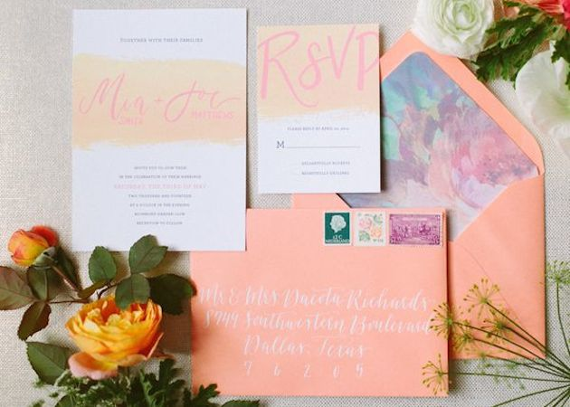 13 Unique Envelope Inserts | Wedding Stationery | Bridal Musings Wedding Blog 2