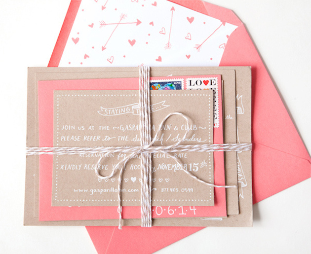 13 Unique Envelope Inserts | Wedding Stationery | Bridal Musings Wedding Blog 8