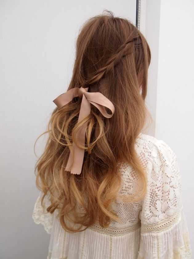 15 Gorgeous Half-Up Half-Down Hairstyles for Your Wedding | Bridal Musings Wedding Blog 2