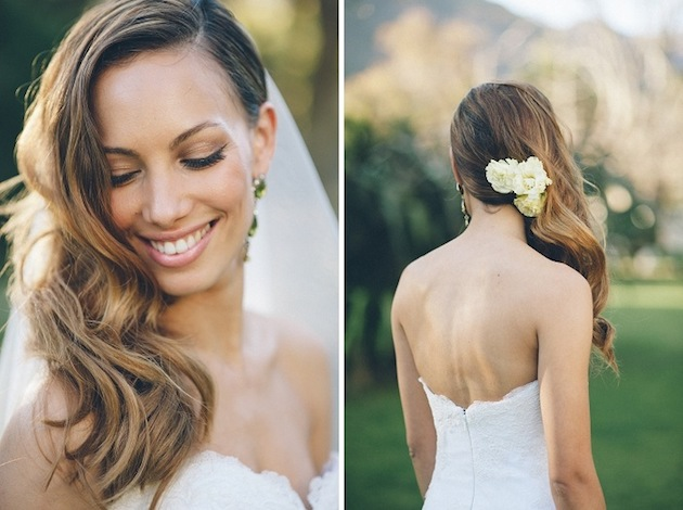 15 ideas for Fresh Flower Wedding Hair | Bridal Musings Wedding Blog 13