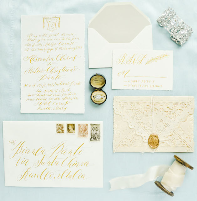 Chic Amalfi Wedding Inspiration | Sarah Love Photography | Bridal Musings Wedding Blog 10