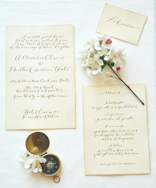 Chic Amalfi Wedding Inspiration | Sarah Love Photography | Bridal Musings Wedding Blog 20