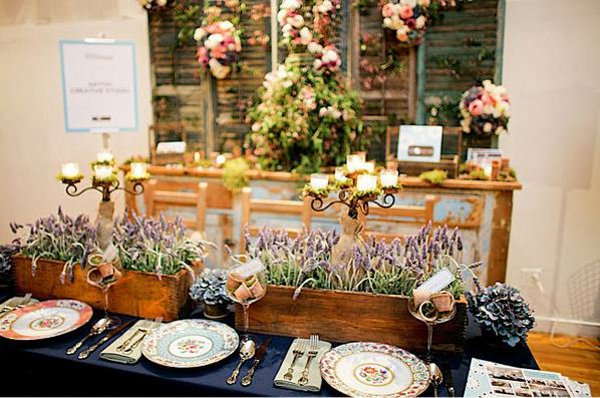 DIY Wedding Ideas Vintage Mismatched China
