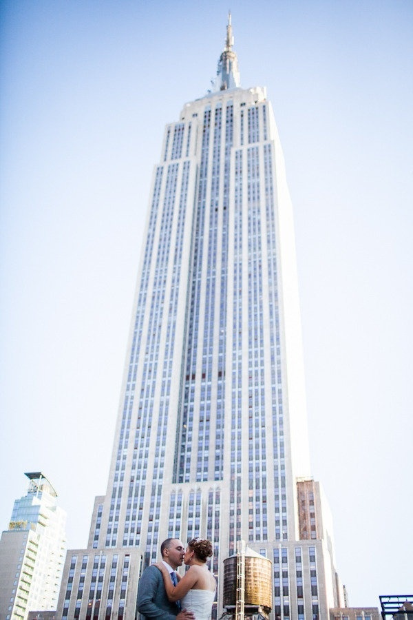 Empire State Building Wedding Photos