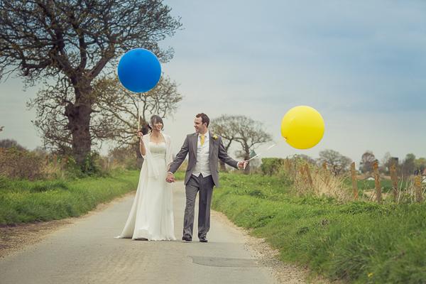 Blue Yellow Spring Wedding http://www.fullerphotographyweddings.co.uk/