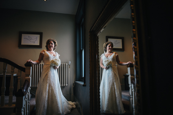 Augusta Jones Cyd Dress Bride Fun Superhero Wedding http://hollydeacondesign.com/