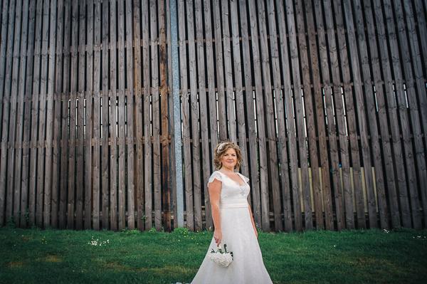 Augusta Jones Lace Dress Bride Fun Superhero Wedding http://hollydeacondesign.com/