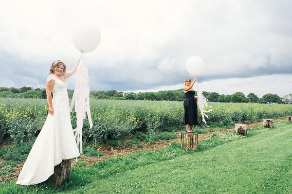 Fun Superhero Wedding Tassell Balloons  http://hollydeacondesign.com/